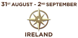 31st August to 2nd September, Ireland